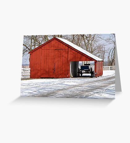 Scale House Greeting Card