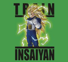 Train Insaiyan Super saiyan 3 Goku Armor  by BadrHoussni
