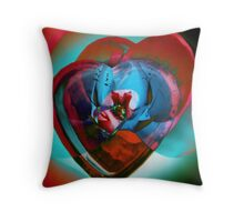 HeartsOnFire_7956 Throw Pillow
