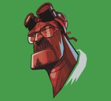 Walter White - Hellboy by xDrew