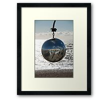 Glitterball at Brighton Framed Print