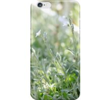 delicate flowers iPhone Case/Skin