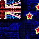 circuit board new zealand (flag) by sebmcnulty