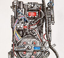 Ghostbuster Proton Pack by Andy  Westhoff