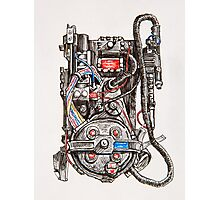 Ghostbuster Proton Pack Photographic Print