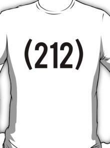 212 (Black) T-Shirt