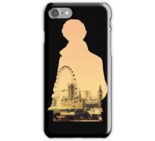 Sherlock - London Silouette iPhone Case/Skin