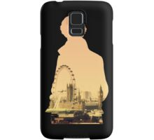 Sherlock - London Silouette Samsung Galaxy Case/Skin
