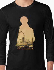 Sherlock - London Silouette Long Sleeve T-Shirt