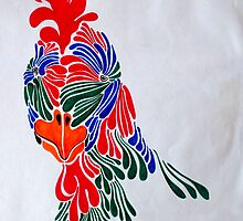 rediscovering true self series #2  groovy chook by LouJay