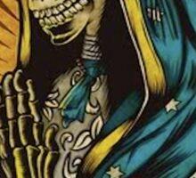 Virgin Mary skull Sticker