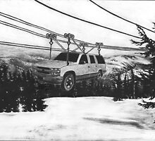 SUV Ski Lift by NJjessie