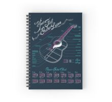 Guitar Lesson Spiral Notebook
