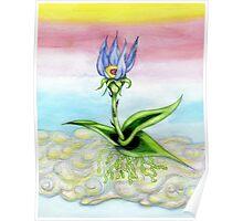 Sky Flower Poster
