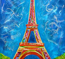 L'Amour a Paris by teshiaart