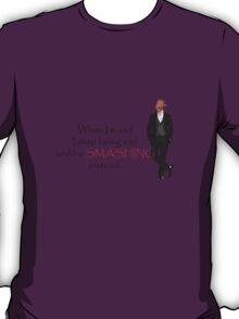 smashing nigel thornberry barney stinson T-Shirt