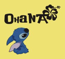 Stitch - Ohana One Piece - Short Sleeve