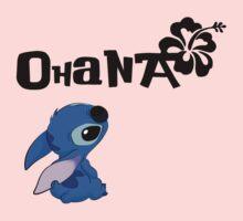 Stitch - Ohana One Piece - Long Sleeve