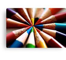 Colored Pencil 1 Canvas Print