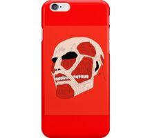 colossal titan iPhone Case/Skin