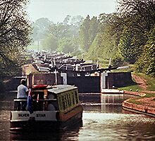 Hatton Flight, Grand Union Canal. by Roy  Massicks