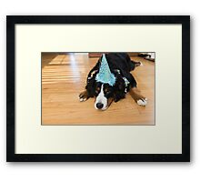 sometimes you just have to party Framed Print
