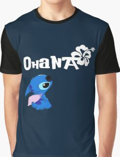 Stitch - Ohana Graphic T-Shirt