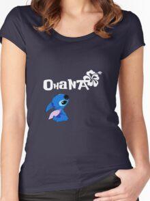 Stitch - Ohana Women's Fitted Scoop T-Shirt