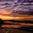 Rock fishing by GeoffSporne