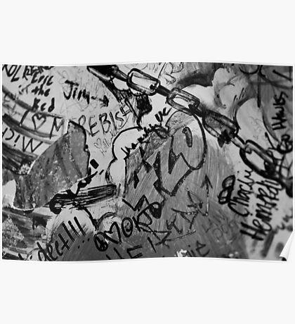 Graffiti in 420 Poster