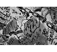 Graffiti in 420 Photographic Print