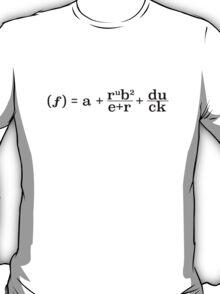 Function of a Rubber Duck (Dark Text) T-Shirt