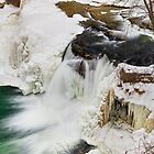 Winter Waterfall by Kenneth Keifer