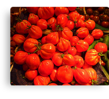 Tomatoes From Beaulieu sur Mer Canvas Print