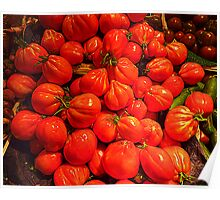 Tomatoes From Beaulieu sur Mer Poster