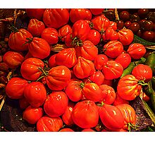 Tomatoes From Beaulieu sur Mer Photographic Print