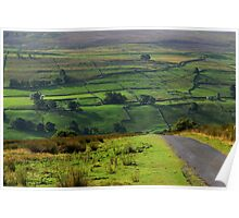 Swaledale Layers Poster