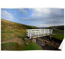Swaledale Stream Crossing Poster