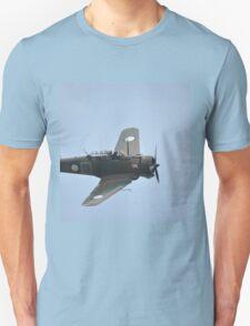 Wirraway Flypast @ Catalina Festival, Rathmines, Australia 2012 Unisex T-Shirt