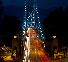 Lions Gate Bridge by Michael Russell