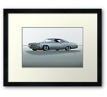 1967 Chevrolet Custom Impala 327 Framed Print