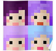 iHasCupquake Minecraft Skin Collection Poster