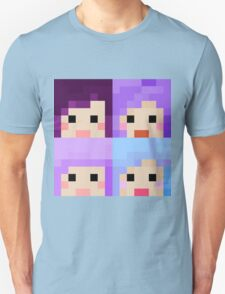 iHasCupquake Minecraft Skin Collection Unisex T-Shirt