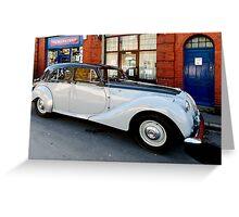 Aston Martin Lagonda 2.6 Saloon Greeting Card
