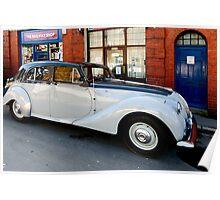 Aston Martin Lagonda 2.6 Saloon Poster