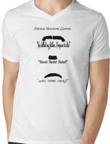 mustaches Mens V-Neck T-Shirt