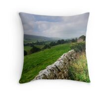 Swaledale Views Throw Pillow