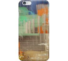 Orange fields r blue  iPhone Case/Skin