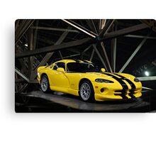2001 Dodge Viper GTS ACR Canvas Print