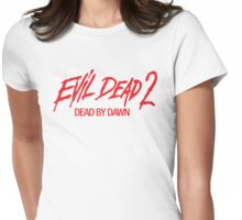Evil Dead 2 Womens Fitted T-Shirt